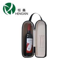 Новая подгонянная ручная коробка вина одиночной бутылки / кожаная коробка вина