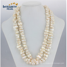 8-10mm 47′′ Fashionable Peanut Natural Shape Pearl Necklace
