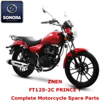 ZNEN FT125-2C PRINCE T Complete Motorcycle Spare Part