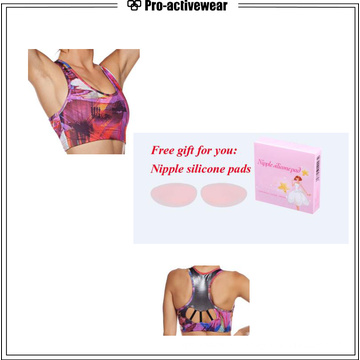 Mesh Removable Quality Private Label Large Size Sports Bra
