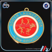 Médailles à prix bon marché hockey laser