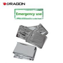 DW-EB01 CE et ISO approuvé camping chaleur réfléchissant d'urgence couverture
