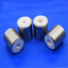 Refractory Zirconia Ceramic Piston Sleeve / Insulator Valve