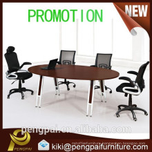 Unique design small round office meeting table