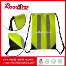 Impermeável 100% poliéster reflexivo sling saco para esportes