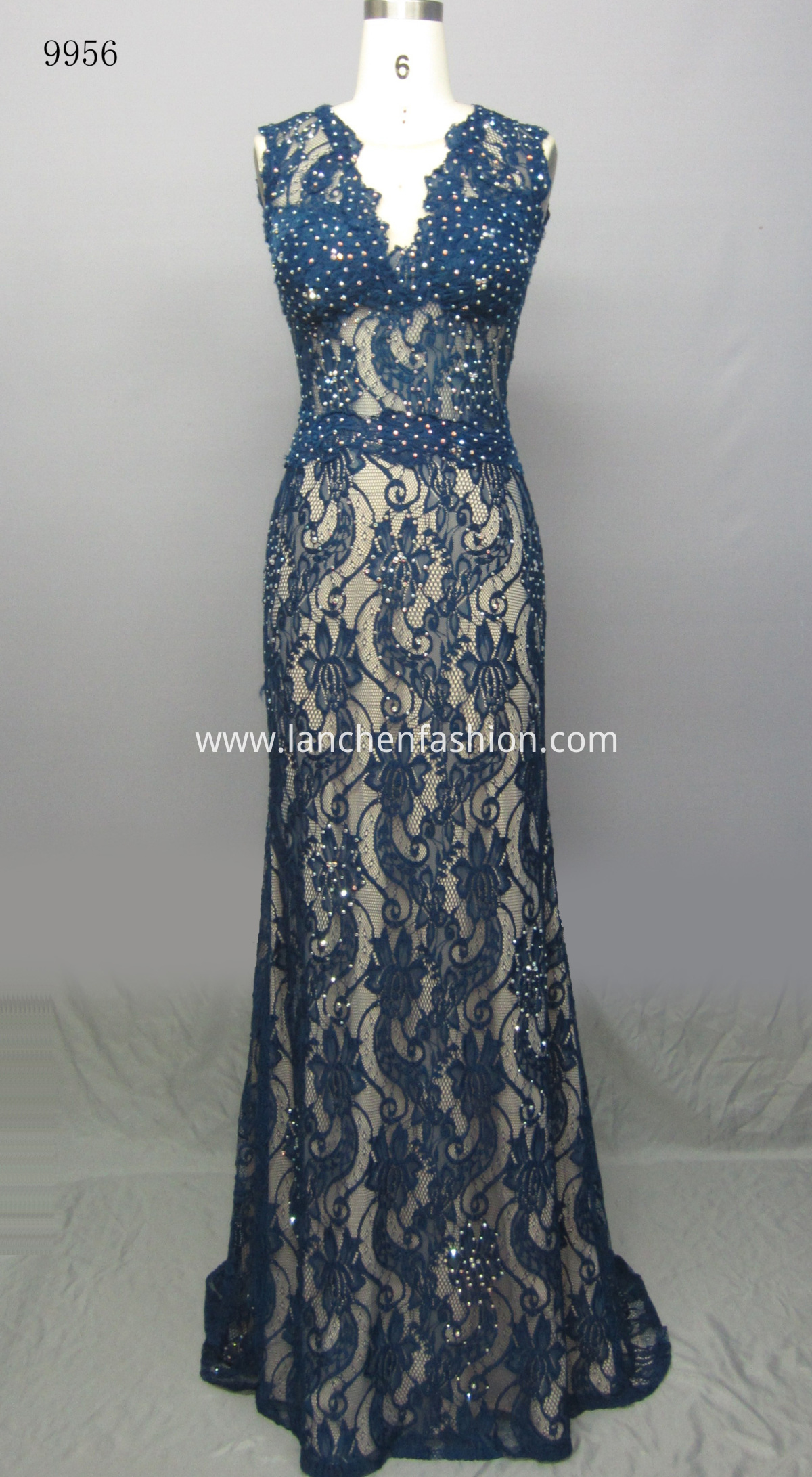 Evening Simple Dress NAVY