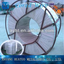 Haute qualité Ca Fe / Calcium Ferro fourré Ferro Alliage / Calcium Ferro alliage Ferro Calcium Alloy
