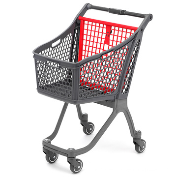 Supermarket Store Plastic Shopping Trolley
