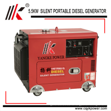 портативный Молчком Тепловозный 7 кВА 7,5 кВА генератор цена список