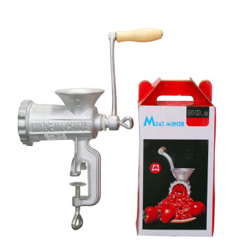 Meat Mincer with Wooden Handle