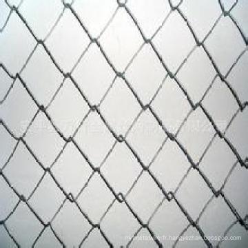Clôture de chaîne (galvanisé électroniquement)