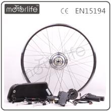 MOTORLIFE CE ROHS pase 1000w kits de conversión de motor ebike, kit de conversión de bicicleta eléctrica, kit vendedor caliente de e-bike