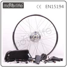 MOTORLIFE CE ROHS passar 1000w kits de conversão do motor ebike, kit de conversão de bicicleta elétrica, kit e-bike vendedor quente