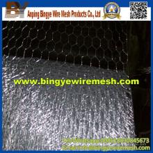 Aleación de aluminio de zinc Galfan Hot Dipgalvanzied Hexagonal Mesh