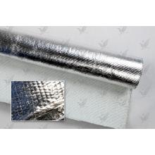Огнеупорная алюминиевая фольга с покрытием из стеклоткани