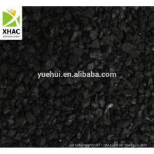 Carbone activé à base de noix de coco pour l'affinage de l'or