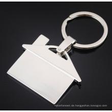2015 benutzerdefinierte Werbegeschenk Zink-Legierung Souvenir Haus Schlüsselbund