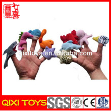 crochet eva sintió títere dedo marioneta hecha a mano fieltro títere