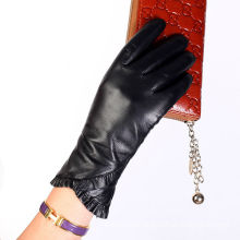 Fish sleeve leather lined wholesale glove