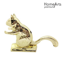 Nut Cracker Golden Squirrel Forma de acero inoxidable