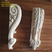 sculpture corbeaux de bois chapiteau en bois gravé