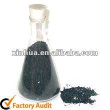 charbon actif pour le paking de sac de pp noir