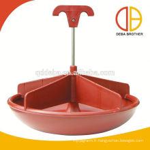 Cuve d'alimentation humide / sèche en plastique