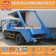 4x2 10cbm DONGFENG tianjin 190hp überspringen loader Müllwagen / Container Hakenlift Müllwagen Müll LKW neues Modell gute Qualität