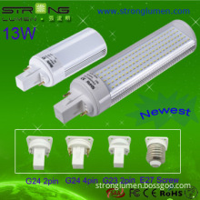emergency battery 13W 2 pins G24 LED plug light,
