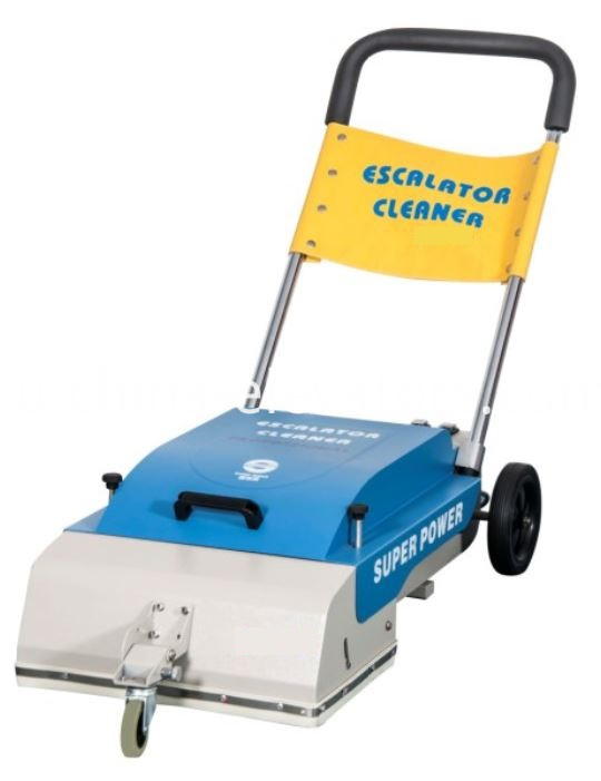 Escalator Step Cleaning Machine