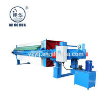 series of 1500 type plc filter press for mining industry OEM