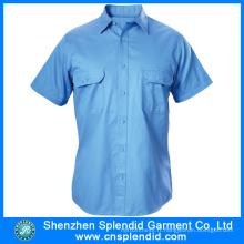 Vêtements de travail en gros pour hommes à manches courtes robe de sécurité Guard