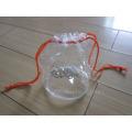 Eco-Friendly Clear Drawstring PVC Gift Bag (hbpv-58)