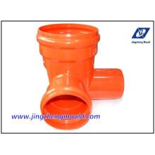 U-PVC-Entwässerungsrohr-System-Form überprüft von ISO