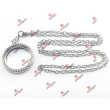 Hochwertige Edelstahl Locket Chain Sets Weihnachtsgeschenke (lcc60104)
