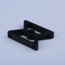 Black Anodized Aluminum Hose Clamp