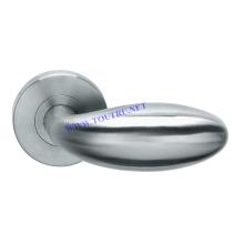 Maçaneta de alavanca da porta de aço inoxidável de alta qualidade