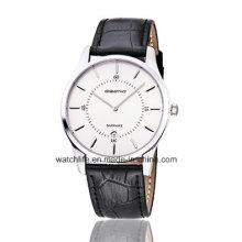 Günstige Saphir Uhr Mode Uhr Lederband Quarz Paar Armbanduhr