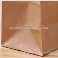 La impresión de encargo caliente del logotipo recicla el bolso de compras de papel de Kraft