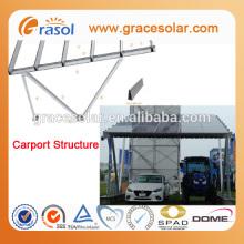 Solar product for solar pv carport canopy