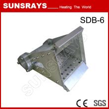 Novo tipo de queimador de duto para secador de ar quente industrial