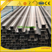 2016 mais novo alumínio extrusão de alumínio parede de cortina para construção