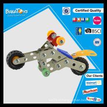 Novos brinquedos para crianças mini metal montar brinquedo