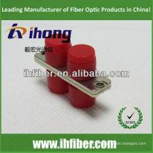 FC Adaptateur fibre optique duplex boîtier métallique