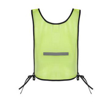 Simple Mesh Fabric Safety Vest with Reflective Tape