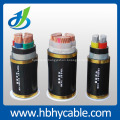 O bom material PVC isolou o cabo distribuidor de corrente 0.6 / 1KV da baixa tensão