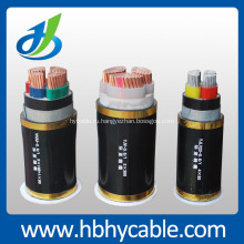 0.6 / 1kv изолированный PVC низшего напряжения Электрический Кабель питания