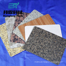 3003 3105 h24 h26 aluminium coated Aluminum color coated sheet marble aluminum sheet