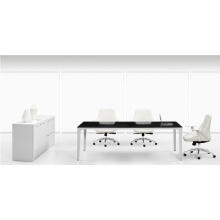 Modern Black Meeting Table Office Furniture for Sale (FOH-UMH24)