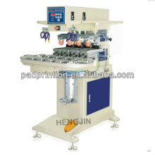 turntable 4 color pad printing machine for pen and keychain